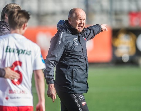 Per Høgmo er nå trener for Fredrikstad FK, som skal spille mot Mjølner søndag. En kamp du kan se direkte også på ranablad.no gjennom Norgessporten.