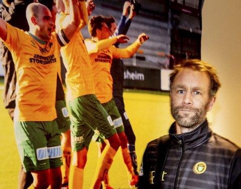 SPENT: Ull/Kisa-trener Trond Fredriksen mener at LSKs nedrykk har gitt klubben e gyllen mulighet.