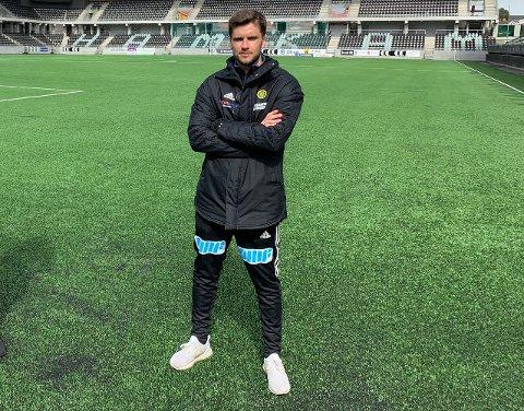 MØTER GAMLEKLUBBEN: Ull/Kisa-trener Sindre Tjelmeland.