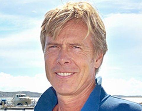 VIL ETABLERE: Styreleder Peder Grimstad hos Norske kolonihager AS vil sammen med firmaet Norsk Eiendom AS etablere kolonihage et sted i Asker.