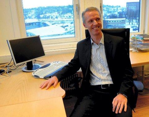 REKRUTTERINGSBYRÅ: Erik Aasmundtveit i Skagerak Consulting har fakturert Sandefjord kommune 336.000 kroner for arbeidet med å finne ny rådmann.