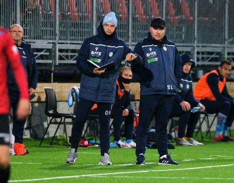 Oliver Harder og Steffen Landro leder akkurat nå et av ligaens mest gavmilde bortelag.