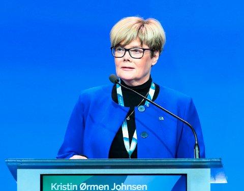 Kristin Ørmen Johnsen (H), leder av Stortingets familie- og kulturkomité. (Foto: Lise Åserud, NTB Scanpix)