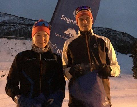 FULLT HUS: Silja Fjærestad Hønsi skaut fullt hus på sprinten i Noregscupen i Østerdalen på søndag. Saman med Endre Wold skal ho delta i student-OL i Russland i mars.