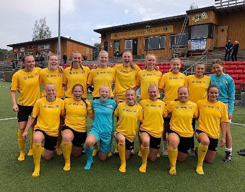Til Tigerstaden: Steinkjer jenter 19 slo i første runde ut jenter 19-laget i trønderhovedstaden, nå reiser de til Tigerstaden.