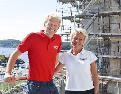 Ronny Jørstad og Torunn Bakke kan vise til svært gode resultater i mars måned. Foto: Arkiv