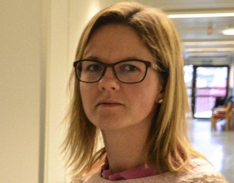Reagerer: Sykepleier Kristin Jeppestøl.
