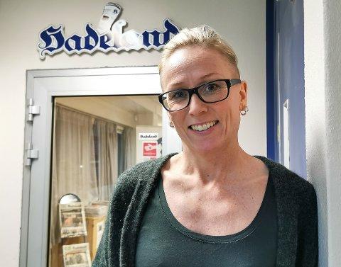 PROVOSERTE: Line Ramsrud har nesten femten års medieerfaring fra Oppland Arbeiderblad. Nå er hun på plass som ansvarlig redaktør og daglig leder i avisen Hadeland. Allerede før første arbeidsdag terget hun på seg leserne.