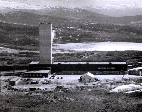 Folldal Verk, Tverrfjellet - anlegget på Hjerkinn