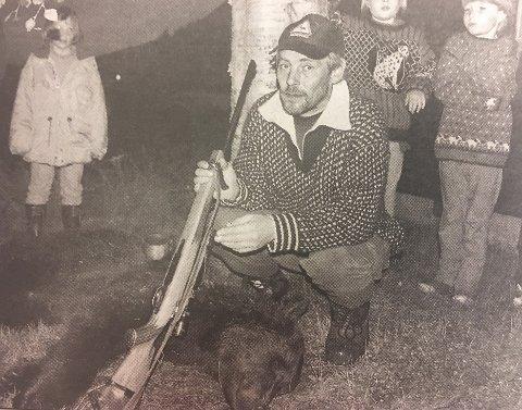 Rune Berg, nå ordfører i Saltdal, felte den siste bjørnen i bygda for snart 20 år siden.