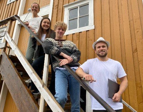 """Ungdommene har funnet på kreative metoder for å løse problemstillingen: """"finn bærekraftige løsninger for Saltdal""""."""