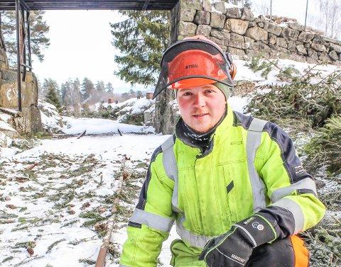 HAR LAGT POLITIKKEN PÅ IS: Jan-Erland Asbjørnhus var representant for SV i Modum kommunestyre. Nå har han flyttet til Krødsherad og fått full stilling på Krøderbanen.