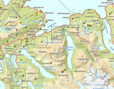 Det er disse områdene kartleggingen av mineralfunn har foregått, så langt ser det meget interessant ut, sier teknisk sjef, Casper Mejer.