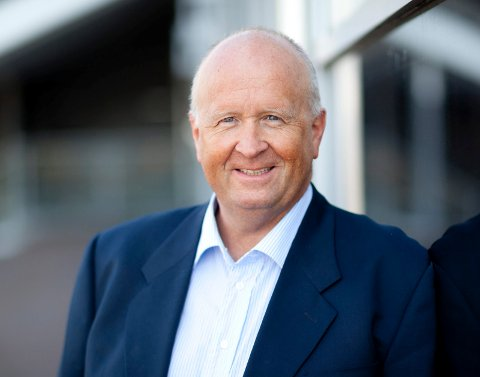 SIER STOPP: Konsernsjef Olav Linga i Haugaland Kraft mener Norge har bygget nok vindmøller på land.