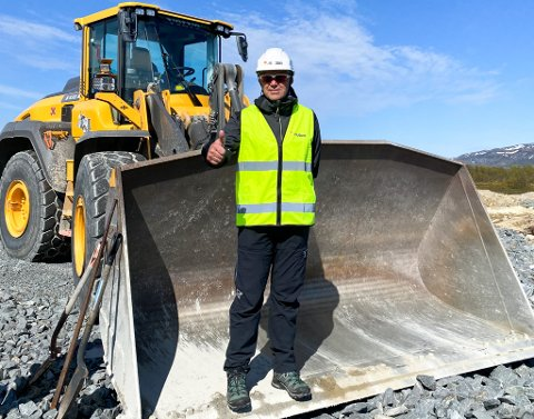 PROSJEKTLEDER: Prosjektleder Odd Henning Groven. Foto: Nussir ASA