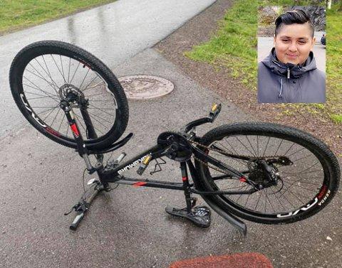 I følge Intersport i Holmestrand vil det koste omlag 3.000 og reparere Gabriels Monje-Vasques' (12) sykkel etter hærverket ved Ekeberg skole.