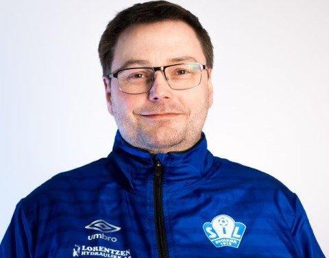 TAKKER NEI: Leder i SIL Fotball, Stian Haugnes, forteller at klubben velger å takke nei til 4. divisjonsspill sesongen 2021.