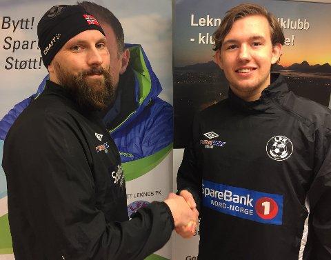 John-Kristian Tryggstad (t.v.) og Bror Ness Grøtterud.