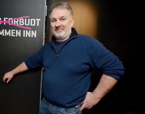 GIR SEG:Frode Nielsen Børfjord har sagt opp jobben som nyhetsredaktør i Adresseavisen.