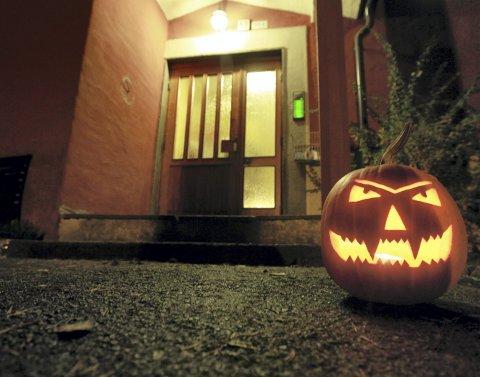 KNASK ELLER KNEP? Snart er Halloween over oss igjen. Foto: Heiko Junge / Scanpix