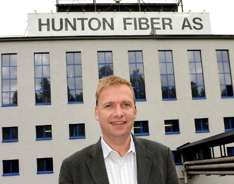 KOSTBAR STRØM: Arne Jebsen i Hunton er redd høye strømpriser på sikt kan gi store negative konsekvenser for industrien.