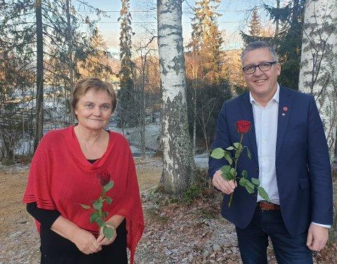 KAN RYKE: I den siste meningsmålingen GD har tatt, ryker plassen for Aps nestleder i Innlandet, Rune Støstad. Rigmor Aasrud kan bli alene igjen.