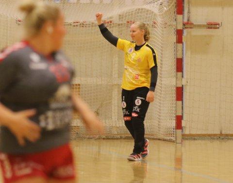 PRAKTKAMP: Hilde Søyseth sto en kjempekamp mot Charlottenlund.