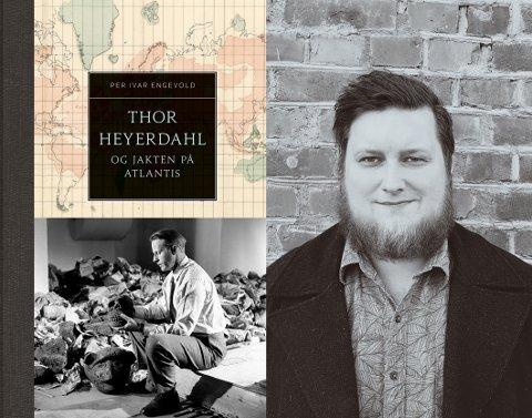 Håper på debatt: Historikeren Per Ivar Hjeldsbakken Engevold (32) gir ut en bok om Heyerdahl i disse dager som han håper vil skape debatt.,