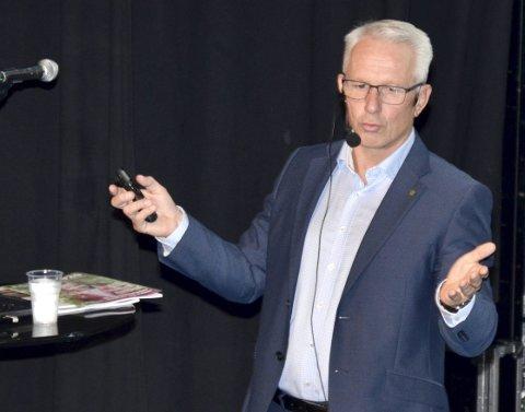 NYTT: Prosjektrådmann for nye Asker, Lars Bjerke, foreslår store endringer.