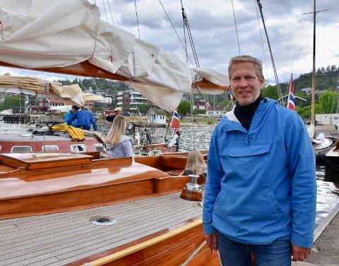 MÅTTE AVLYSE: - Vi hadde ikke annet valg enn å avlyse årets trebåtfestival, sier Peter Ennals. (Arkivfoto: Edgar Dehli)