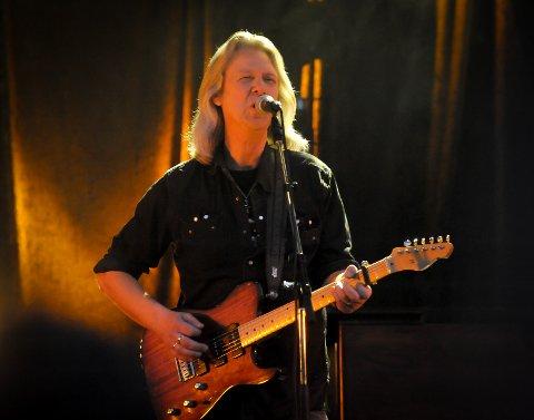 I FRONT: Aslag Haugen har vært frontfigur for Hellbillies siden starten.