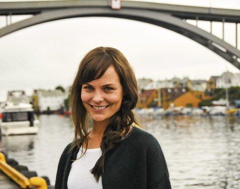 DYKTIG: Linn Jeanethe Kyed har vært med på å skrive manuset til dokumentaren om Magnus Carlsen. Her er hun på Filmfestivalen i Haugesund i fjor.foto: anne lill w. aas