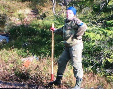 SAVNET: Politiet gikk søndag kveld ut med bilde av den 69 år gamle kvinnen som har vært savnet på Rollags del av Blefjell siden lørdag ettermiddag.