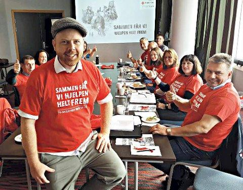 Vil skape engasjement: Marius Hammer fronter den lokale komiteen for høstens TV-aksjon.