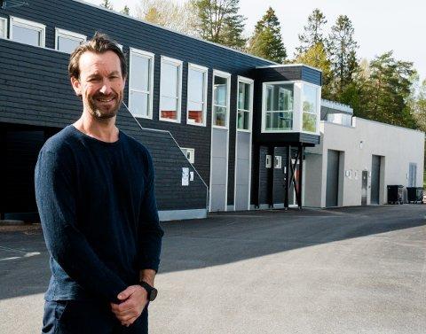 GIR SEG: Tarjei Angell gir seg som styreleder i Tønsberg og Omegn Ishockeyklubb. Foreløpig har ikke klubben funnet noen til å overta.