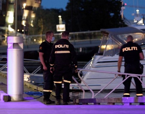 I SJØEN: En mann falt i sjøen ved brygga i Tønsberg. Det ble uført livreddende førstehjelp på stedet.  Båten på bildet er ikke involvert i saken.