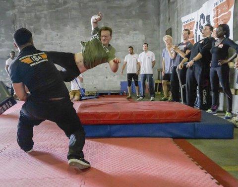 International Stunt Academy: Skolen for «action Actors» har naturlig nok en noe annerledes timeplan enn de fleste andre fagskoler.Foto: ISA