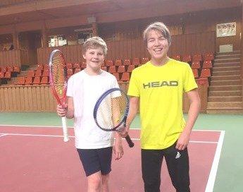 Tobias Paulsrud og Daniel Hansen