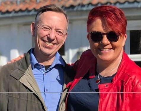 Jørn Barkenæs og Rita Hirsum Lystad