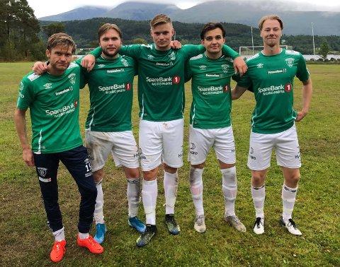 Dagens målscorere: 0-1 Chrisander Nyland 1 min, 0-2 Erik Ruud Ramsli 15 min, 0-3 Sander Resell Grimelid 70 min, 0-4 Ola Holten Mikkelsen 82 min, 0-5 Jonas Johnsen Johansen 83 min.