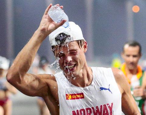 Ny vei: Håvard Haukenes har vært Norges desidert beste kappgjenger de siste årene. Nå skal han løpe. Foto: NTB