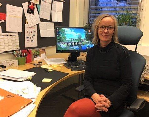 Ny jobb: Kristine Osøren Winsvold forlater Hauge barneskole og blir rektor ved Borge ungdomsskole.