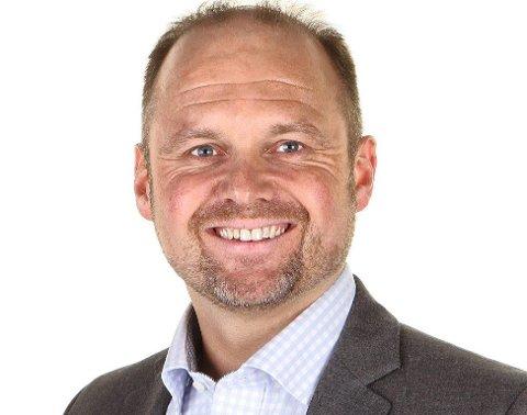 Frank Sundermeier, styreleder Narvikregionen Næringsforening.