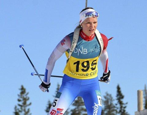 SEIER: Juni Arnekleiv vant sprinten. Foto: Jallapress