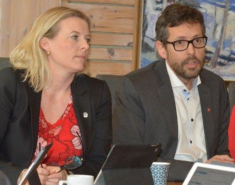 DUELL: Ingrunn Trosholmen og Mats Furu, kandidater til å toppe Lillehammer Aps liste til kommunevalget 2019.Foto:  Kine Søreng Hernes