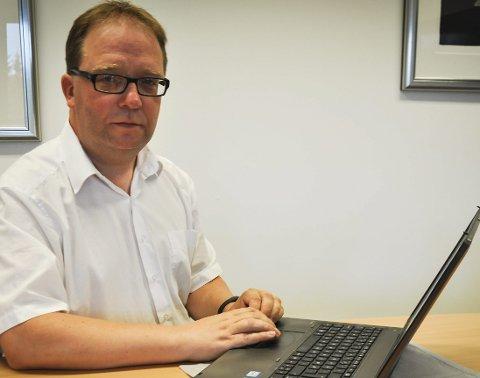 KJENNER OSS IKKE IGJEN: – Administrasjonen driver ikke bevisst motstand motvirksomheten i Musikk-Kjeller'n, sier Lars Arne Vesteraas.
