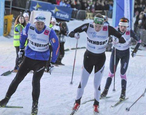 Marius Svendsby tok skalpen til selveste Petter Northug i kvartfinalen.