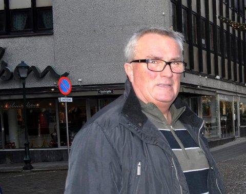 OVERRASKET: Gruppeleder i Halden Frp, Per Egil Evensen, er litt overrasket over at Sylvi Listhaug valgte å trekke seg.