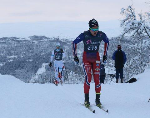 FORNØYD: Petter Stokkeland sa seg fornøyd med resultatene på Beitostølen.