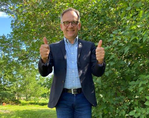 Ordfører Håkon Tolsby er strålende fornøyd med tildelingen av bygdemiljøpakker.